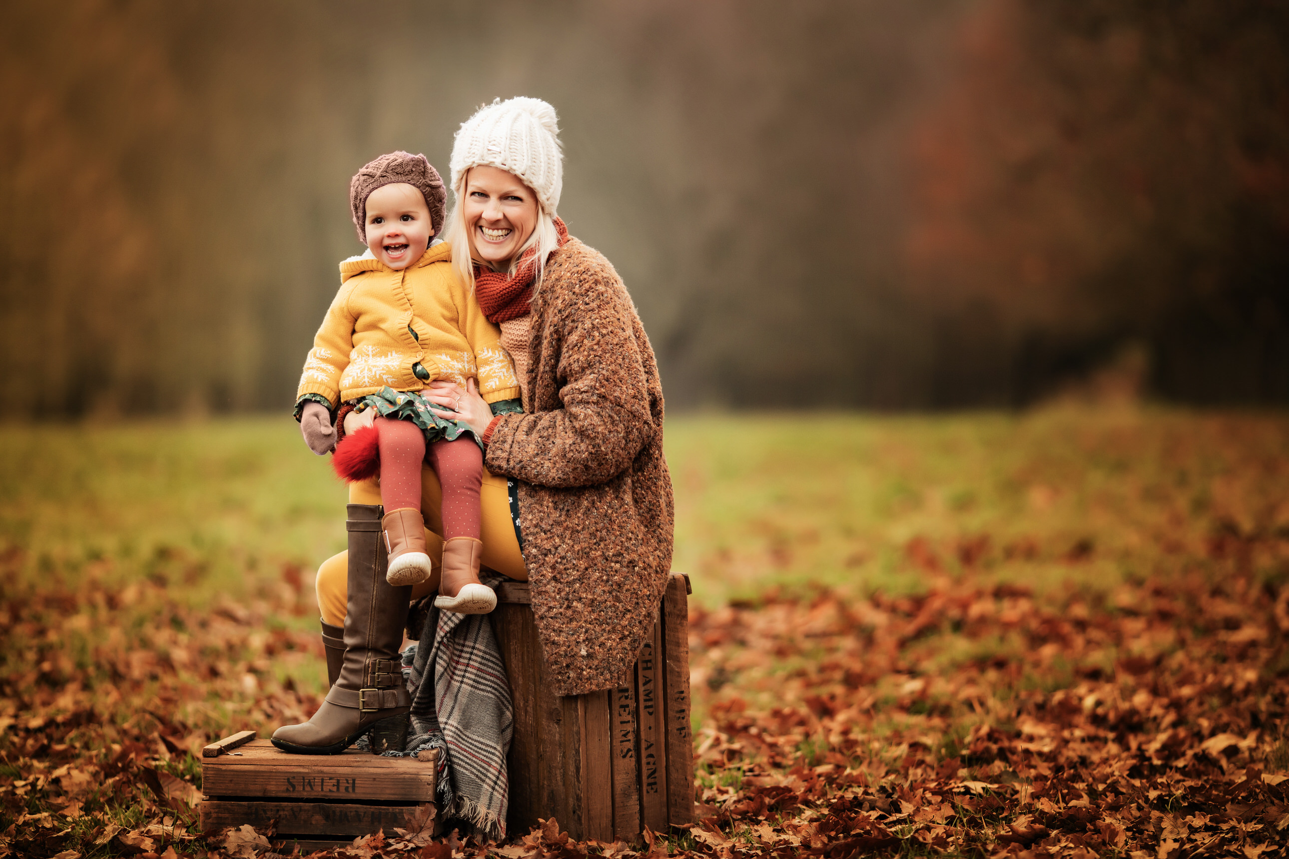 mummy and me on lucation autumn photo by Family photographer Lancashire
