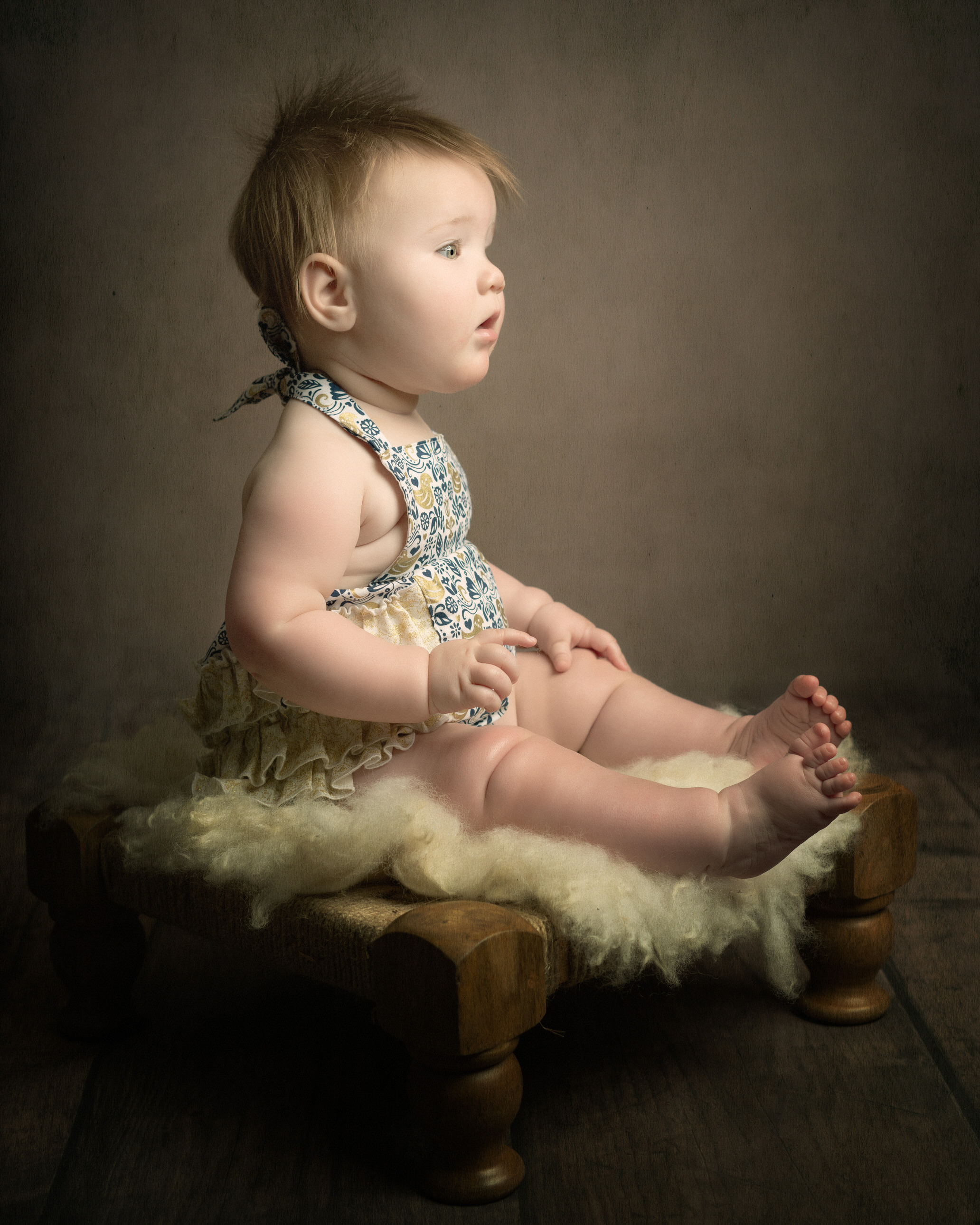 fine art childrens portrait by Portrait photographer Preston