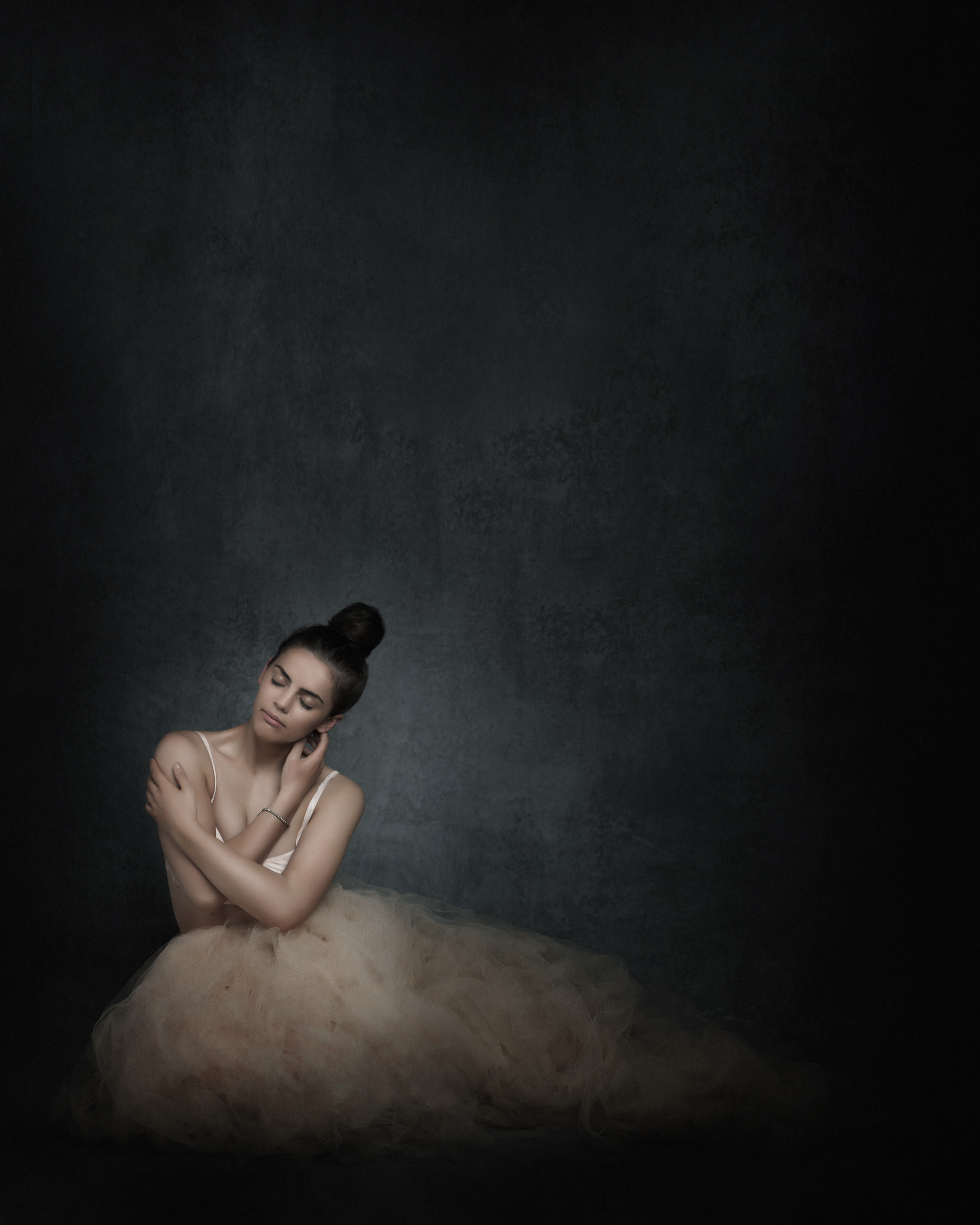 dancer portrait fine art in style by Portrait photographer Preston