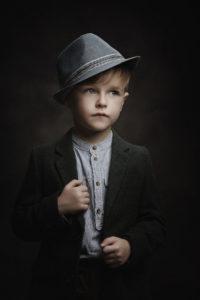 child model portfolio photoshoot by Portrait photographer Preston