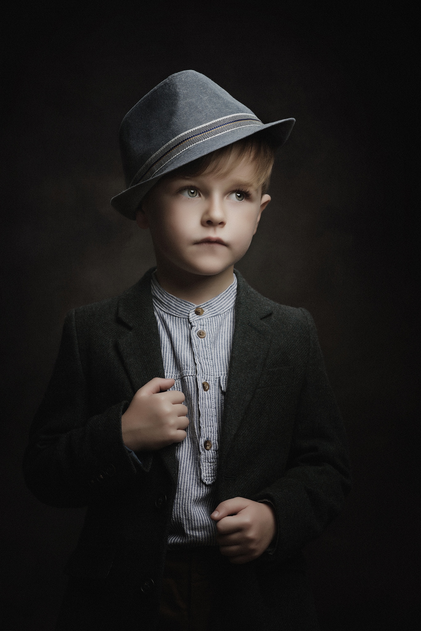 child model portfolio photoshoot by Portrait photographer Preston