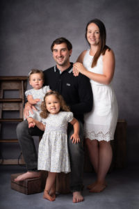 parents and children family studio photographer by Family photographer Lancashire