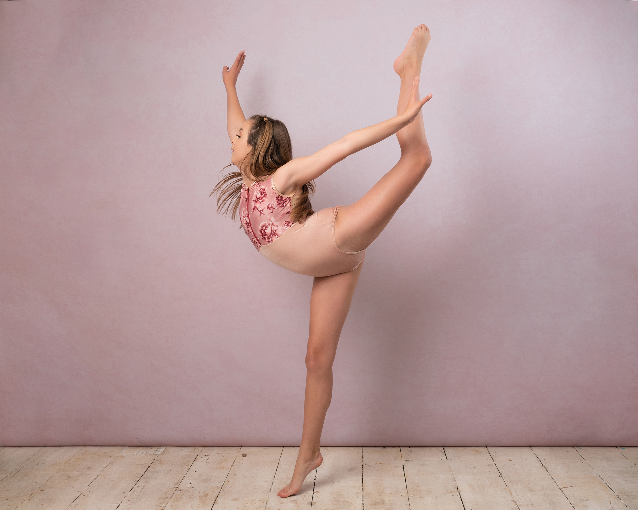 Ballet cancer photoshoot by Portrait photographer Preston
