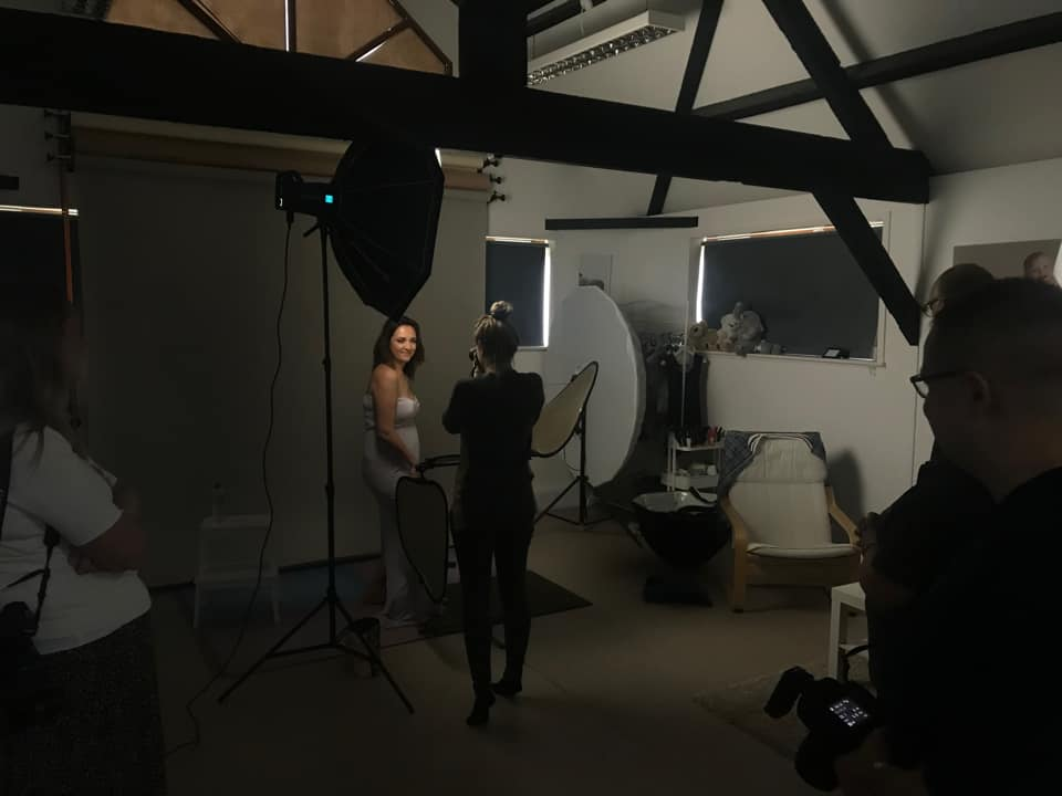 Behind the scenes at a Photography Workshop in the UK